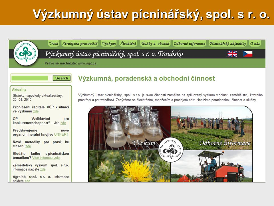 Výzkumný ústav pícninářský, spol. s r. o.