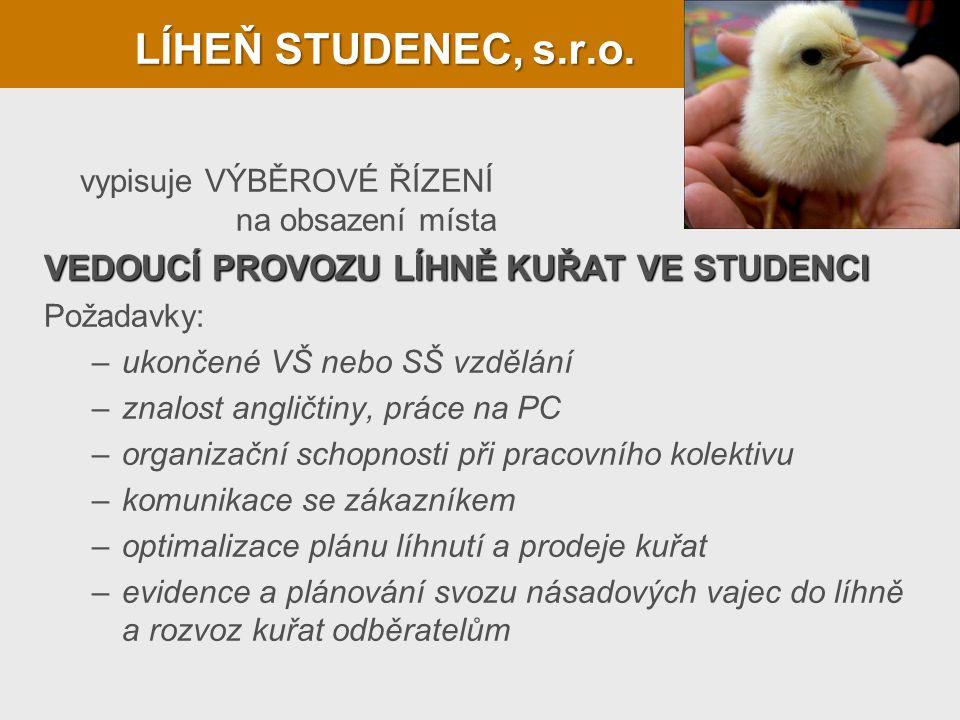 LÍHEŇ STUDENEC, s.r.o.
