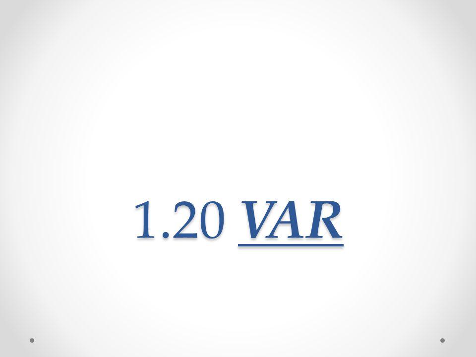 1.20 VAR
