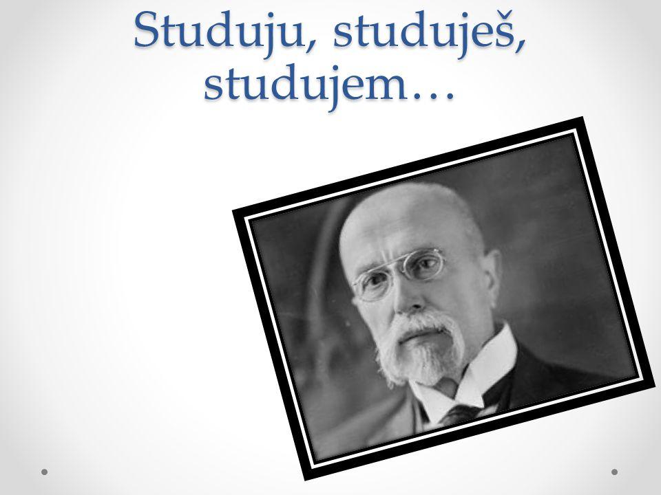Studuju, studuješ, studujem…