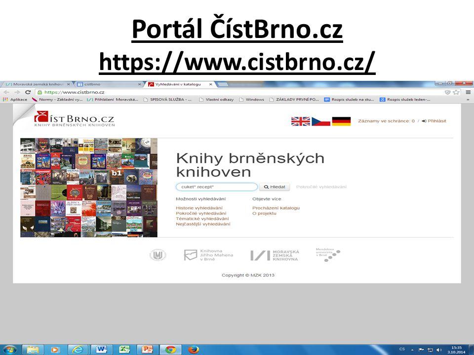 Portál ČístBrno.cz https://www.cistbrno.cz/