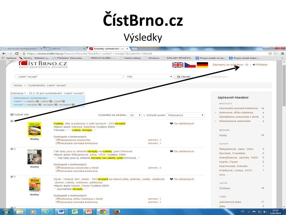 ČístBrno.cz Výsledky