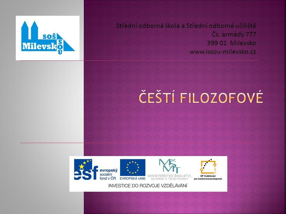 Střední odborná škola a Střední odborné učiliště Čs.