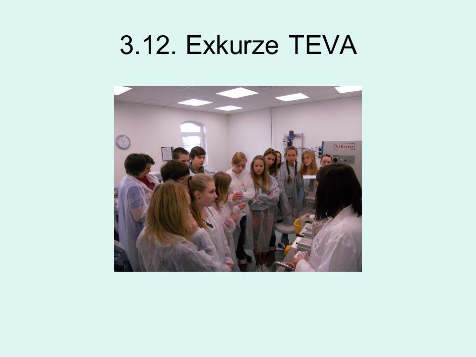 3.12. Exkurze TEVA