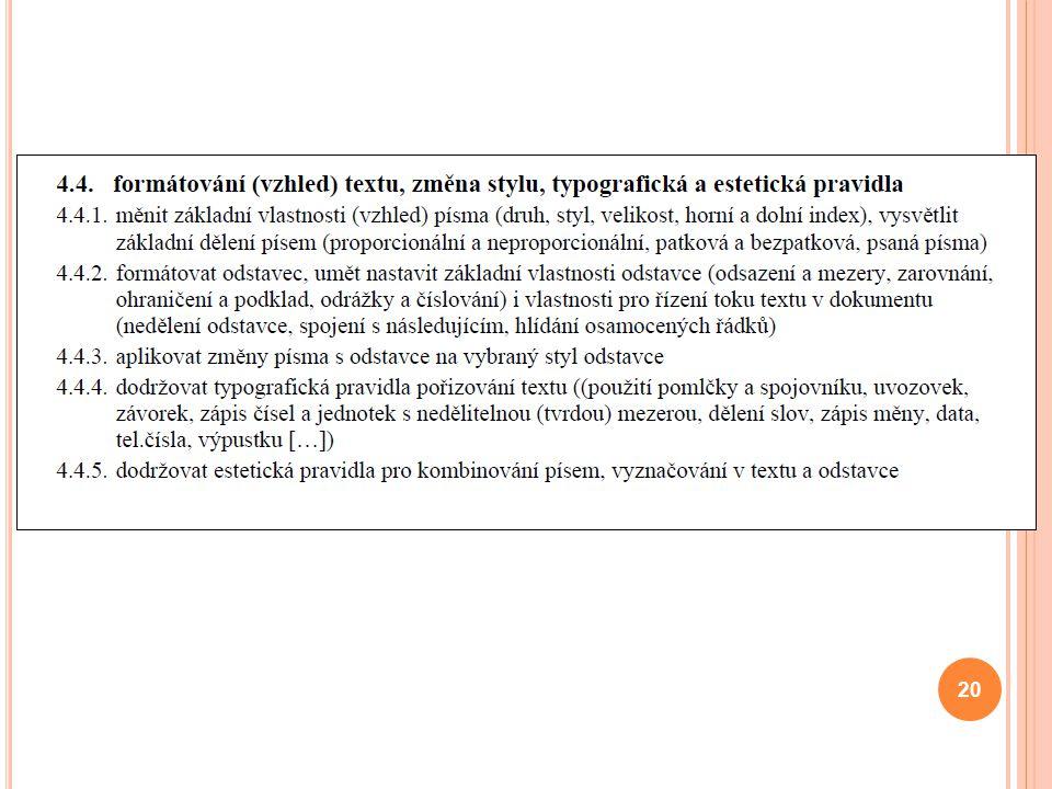 20 Vladimír Očenášek
