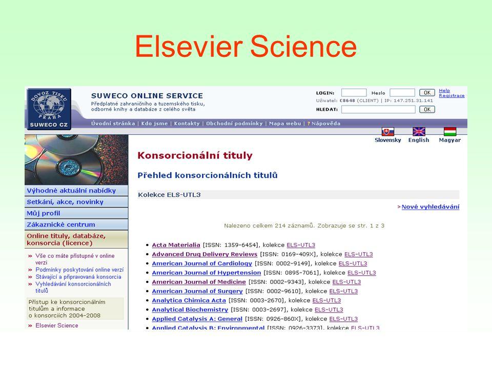 Elsevier Science
