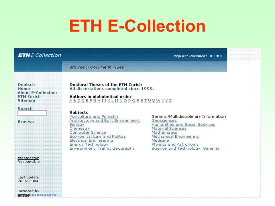 Speciální EIZ věda o počítačích DL ACM ETRDL-ERCIM Technical Report Digital Library Inspec Lecture Notes in Computer Science lékařství MEDLINE EMBASE