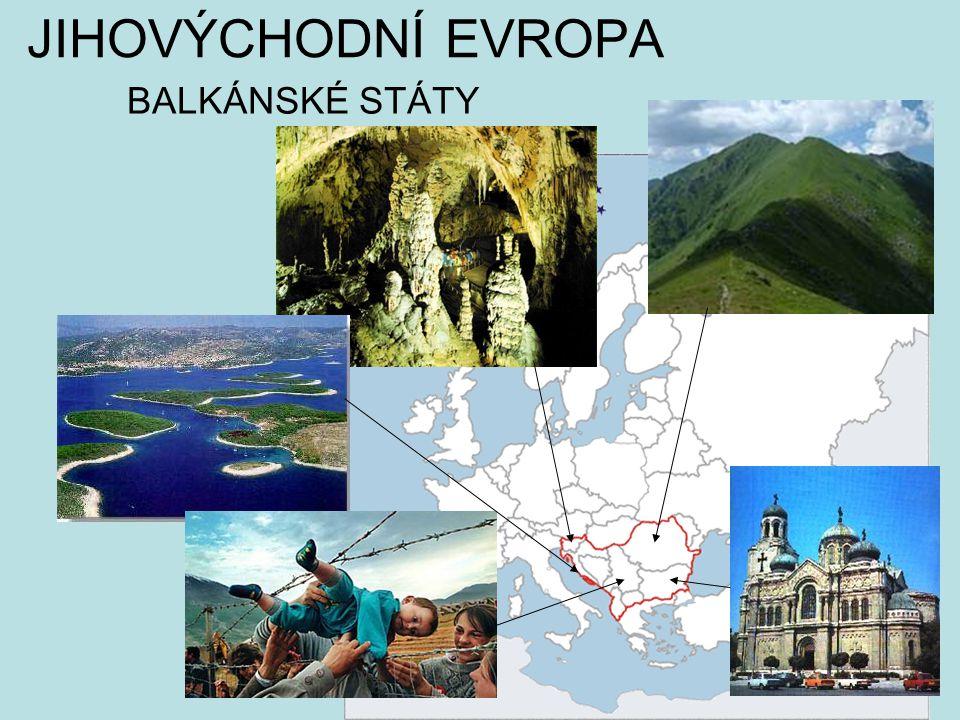 Téma: Evropa, Balkánské státy - 8.ročník Použitý software: držitel licence - ZŠ J.