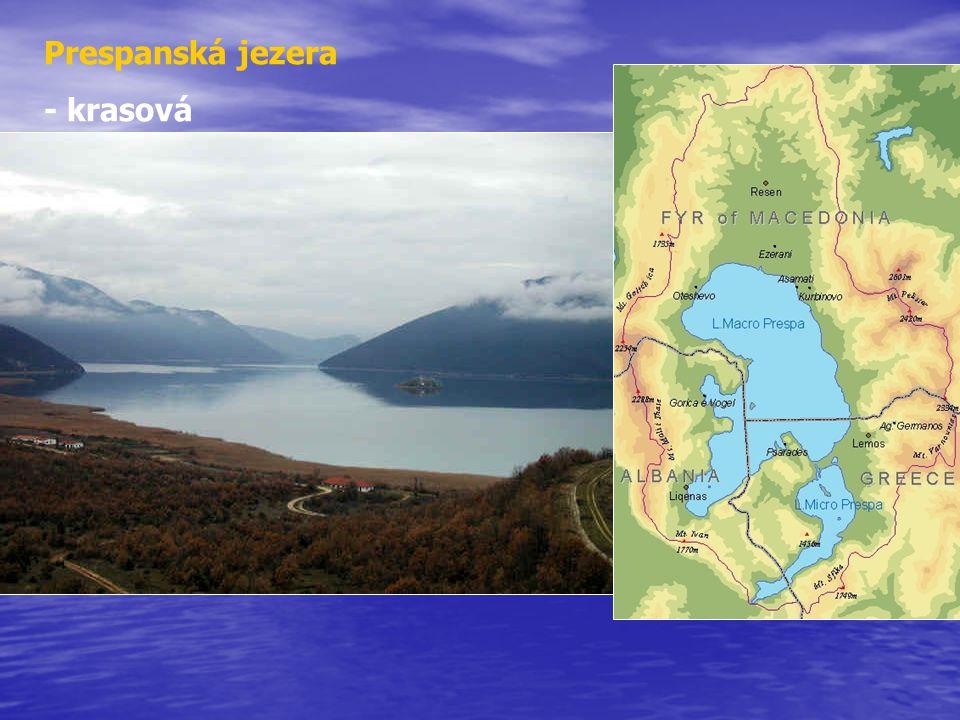 Prespanská jezera - krasová