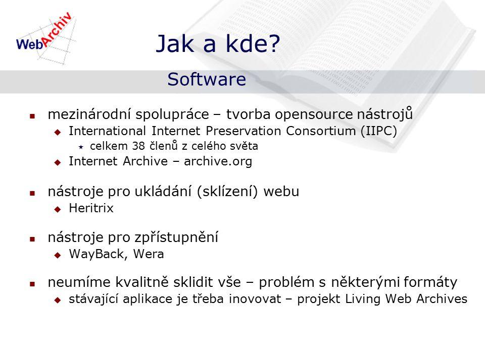 webarchiv.cz/vyhledej vyhledávání na základě URL adresy Jak? Zpřístupnění WebArchivu