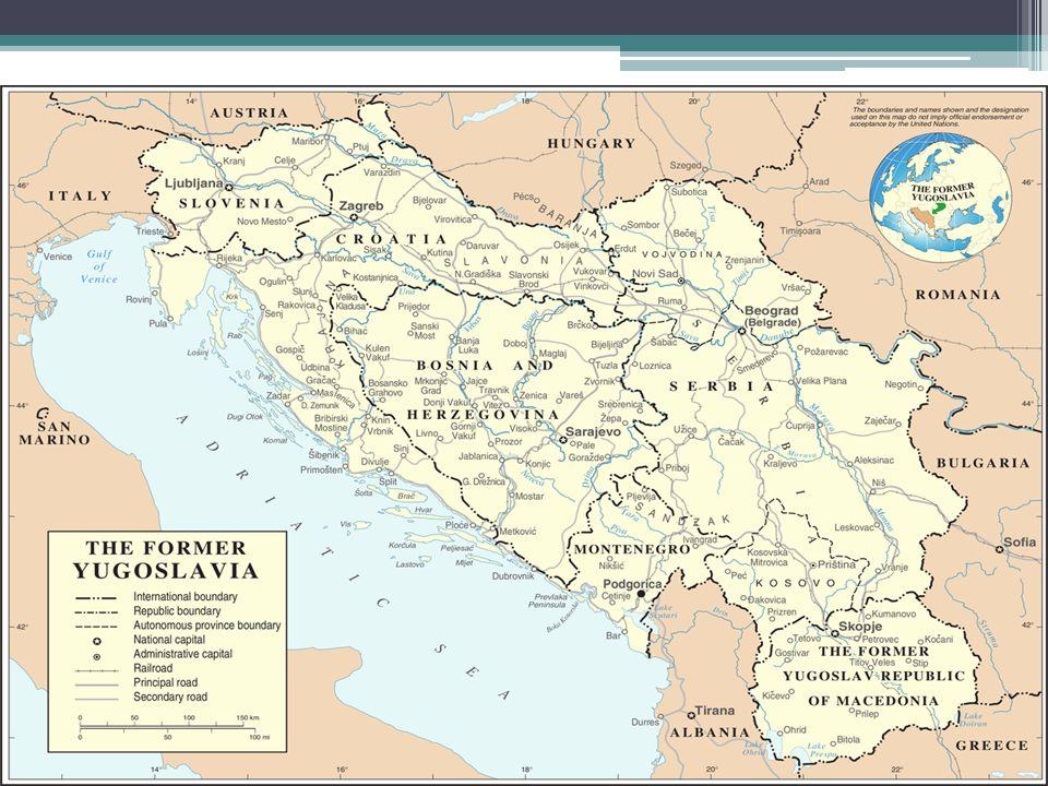 """Jugoslávie v nových rukou Josip Broz """"Tito Revolucionář Později nepřítel Moskvy Kult osobnosti, hlavně v Chorvatsku oslavován"""