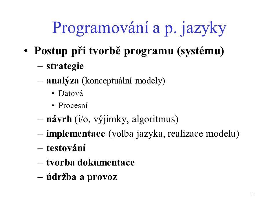 1 Programování a p.