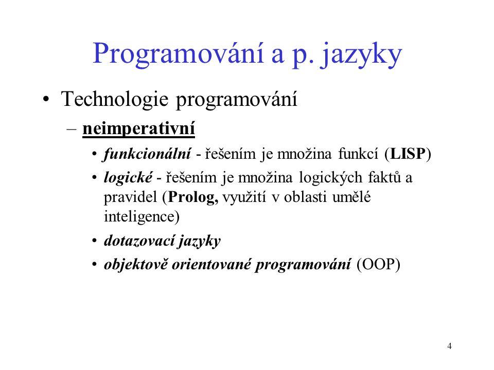 4 Programování a p.