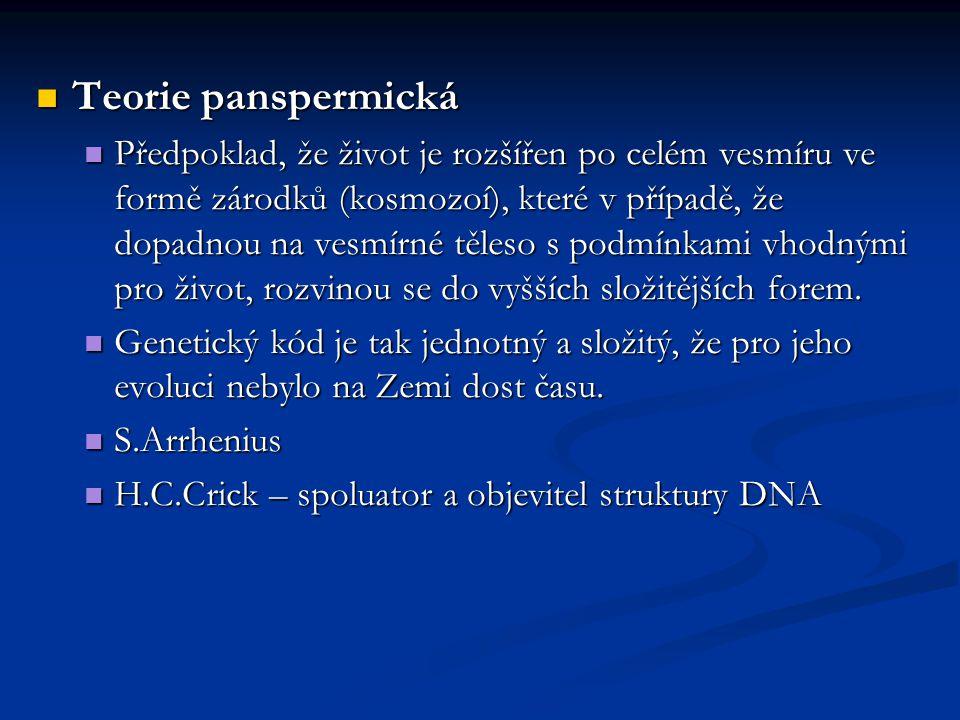 Druhy populací ve 30.letech odstranila mýtus o všemocnosti mutací.