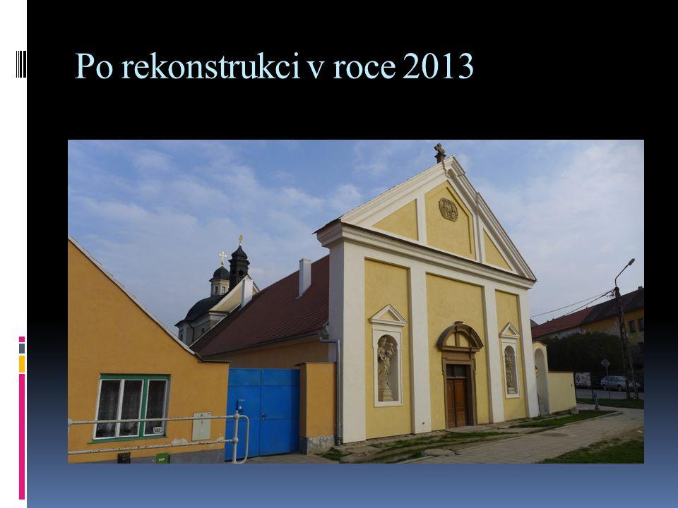 Po rekonstrukci v roce 2013