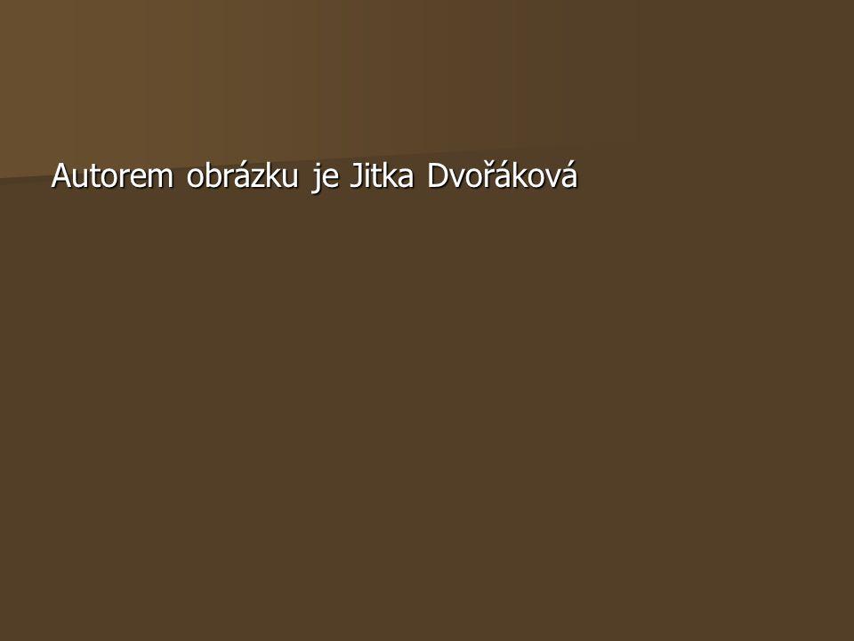 Autorem obrázku je Jitka Dvořáková