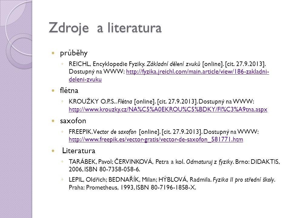 Zdroje a literatura průběhy ◦ REICHL, Encyklopedie Fyziky.