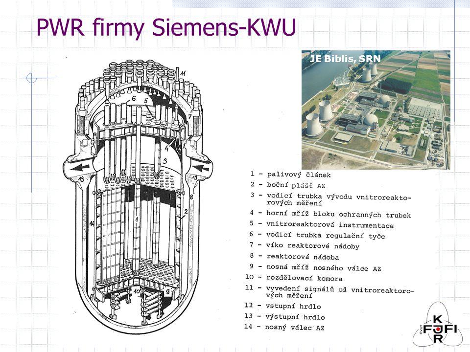 PWR firmy Siemens-KWU JE Biblis, SRN