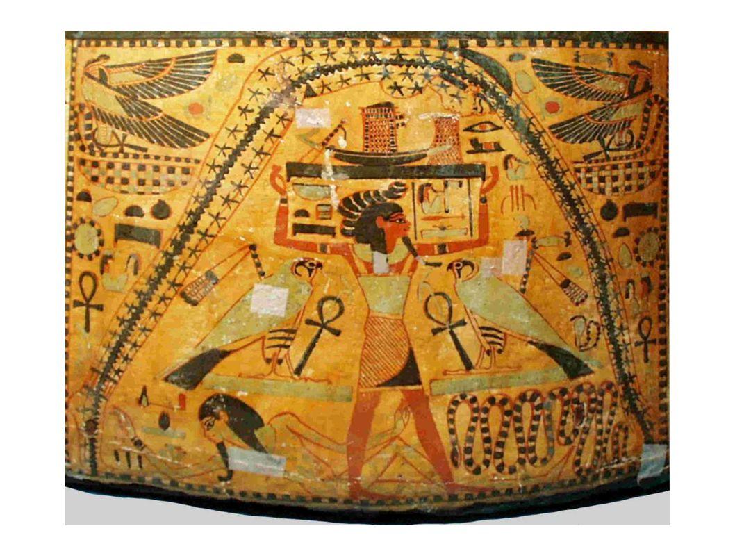 Průběh mysterií můžeme rozčlenit do 4 celků:  1) sváteční období začalo znovunalezením a balzamováním roztroušených částí Usirova těla, které je následně rituálně spojeno (politická funkce mýtu – sjednocení 42 egyptských krajů v politický i kulturní celek)  2) inscenování Usirova zmrtvýchvstání rituálním oživením jeho složeného těla (věčný život)  3) souboj Hóra se Sutehem  4) nastoupení Usirova syna Hóra na trůn Prameny:  Ichernofretova stéla  Šabakův kámen