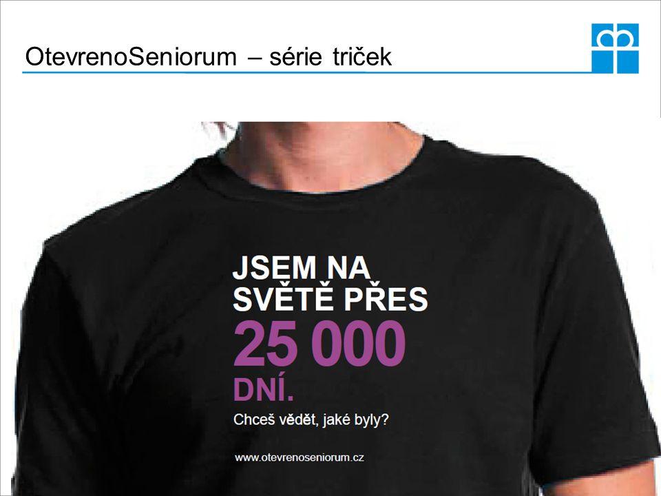 OtevrenoSeniorum – série triček
