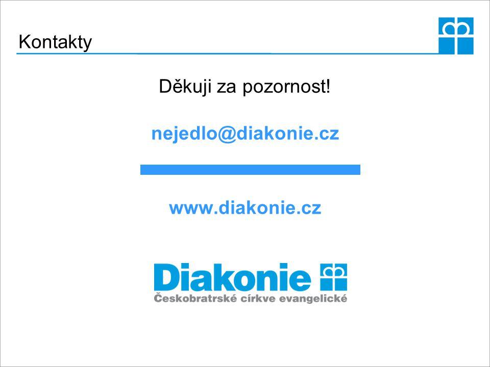 Kontakty Děkuji za pozornost! nejedlo@diakonie.cz www.diakonie.cz