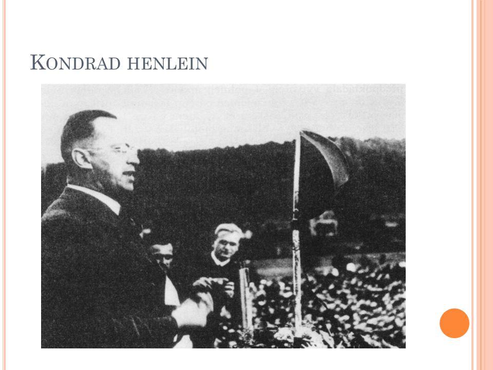 K ONDRAD HENLEIN