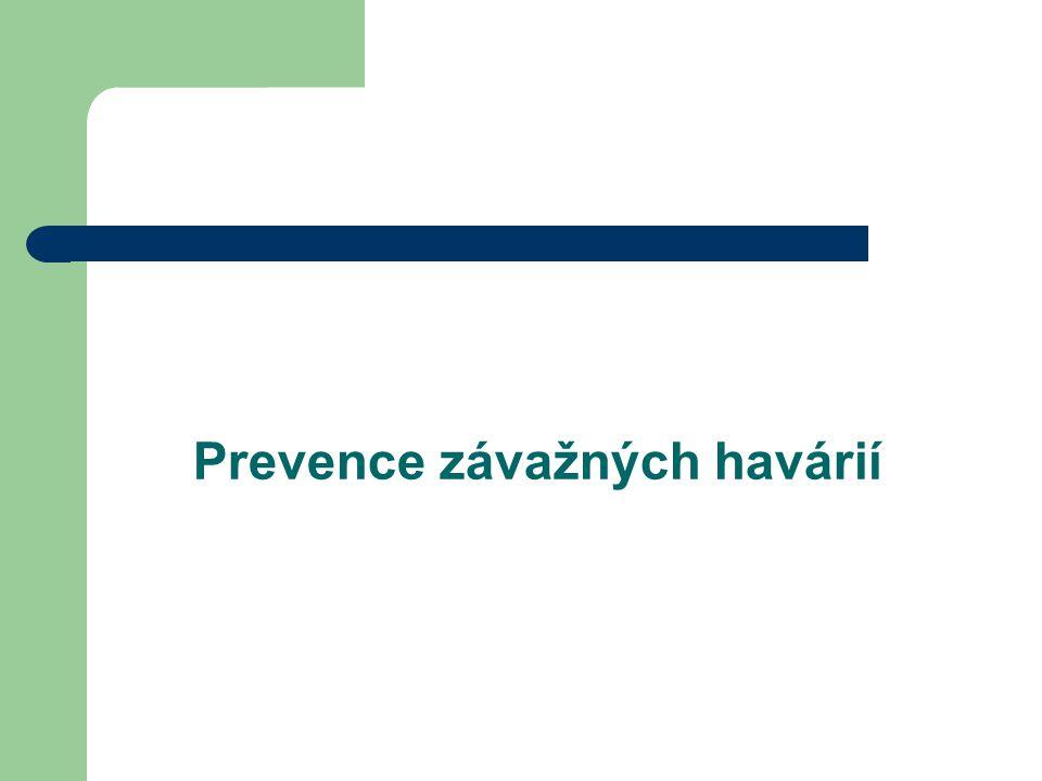 Prevence závažných havárií
