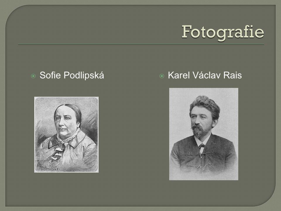  Sofie Podlipská  Karel Václav Rais