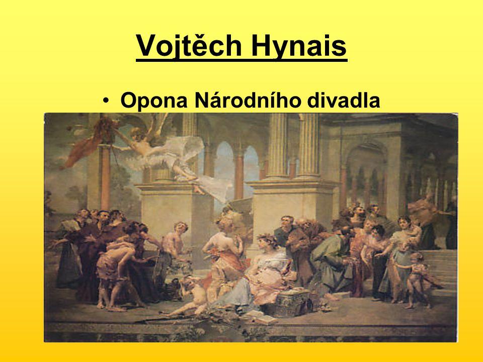 Vojtěch Hynais Opona Národního divadla