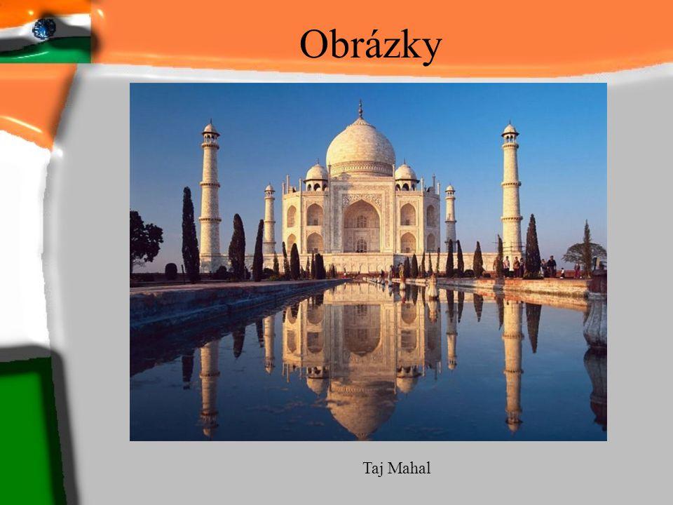 Obrázky Taj Mahal