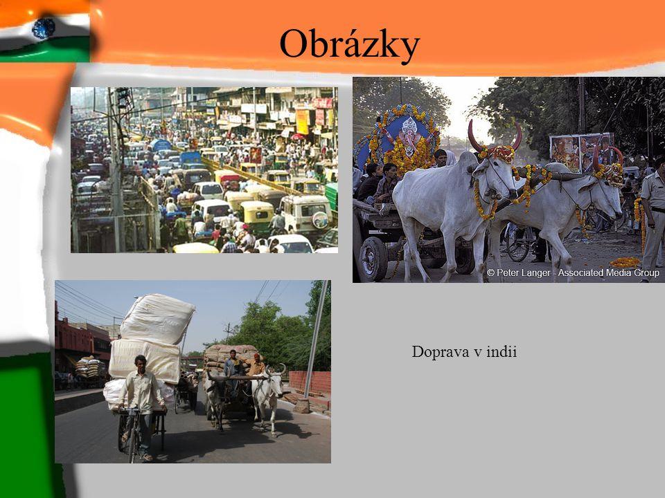 Obrázky Doprava v indii