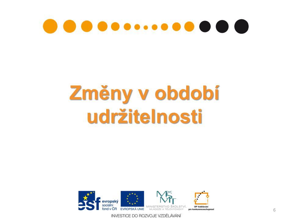 Monitorovací zpráva o udržitelnosti – kontrola a schvalování Výsledek kontroly a hodnocení MZU: - Vráceno k dopracování (v Benefit7 se objeví Storno finalizace) - Schváleno Další MZU může příjemce v Benefit7 založit až po schválení předchozí MZU 27