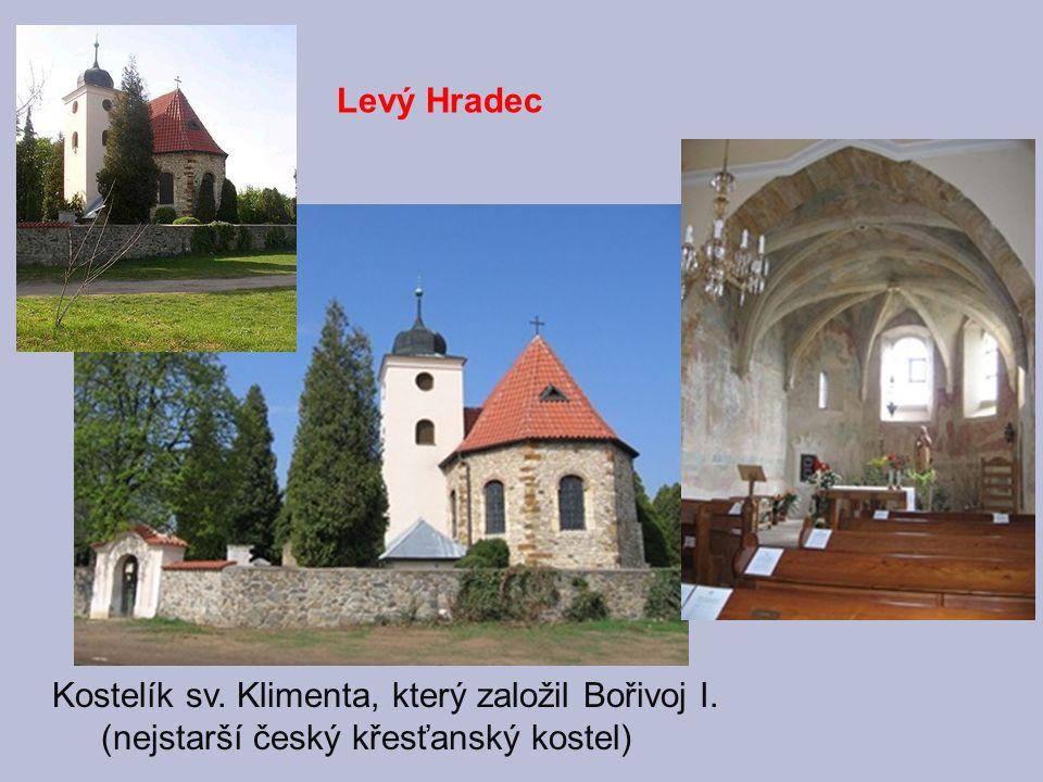 885 přesídlil Bořivoj do Prahy - založil kostelík Panny Marie - začal se stavbou Pražského hradu