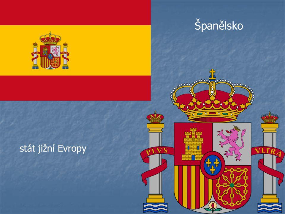 Španělsko stát jižní Evropy
