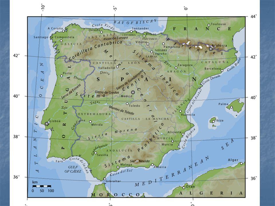 Španělsko oficiálně Španělské království oficiálně Španělské království stát ležící na Pyrenejském poloostrově.