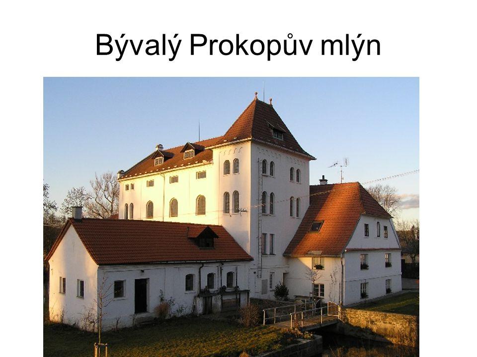 Bývalý Prokopův mlýn