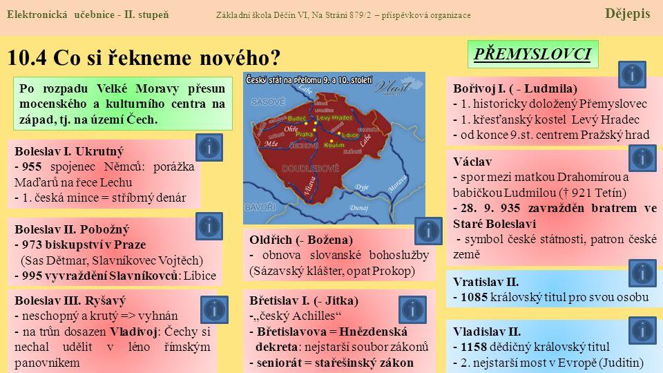 10.4 Co si řekneme nového.Elektronická učebnice - II.