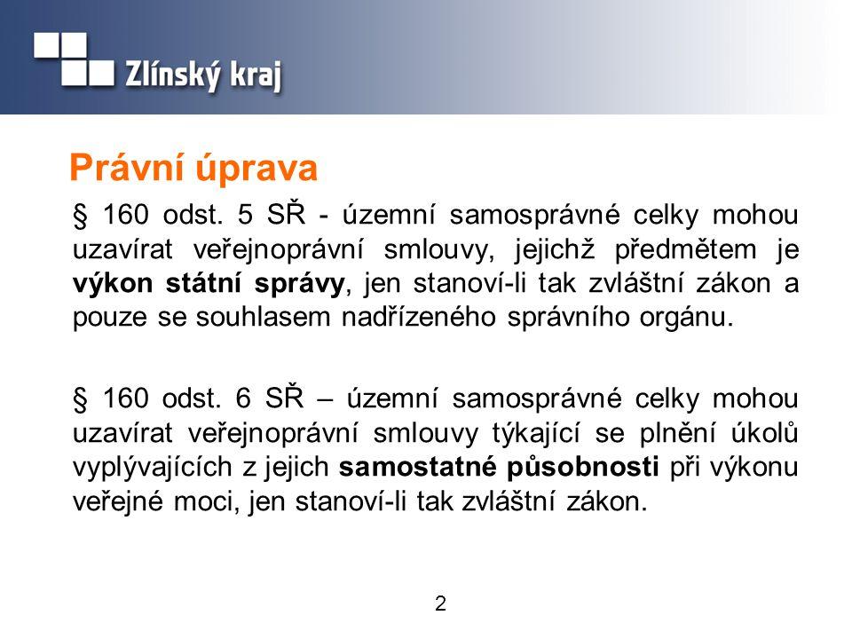 2 Právní úprava § 160 odst.