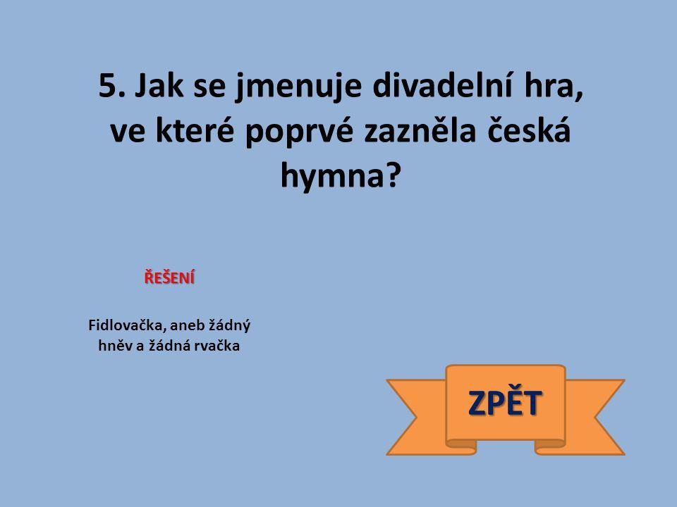 26. Jak se jmenuje značka traktorů vyráběných v ČR? ŘEŠENÍ Zetor ZPĚT