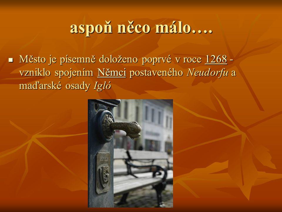 aspoň něco málo…. Město je písemně doloženo poprvé v roce 1 1 1 1 1 2222 6666 8888 - vzniklo spojením N N N N N ěěěě mmmm cccc iiii postaveného Neudor