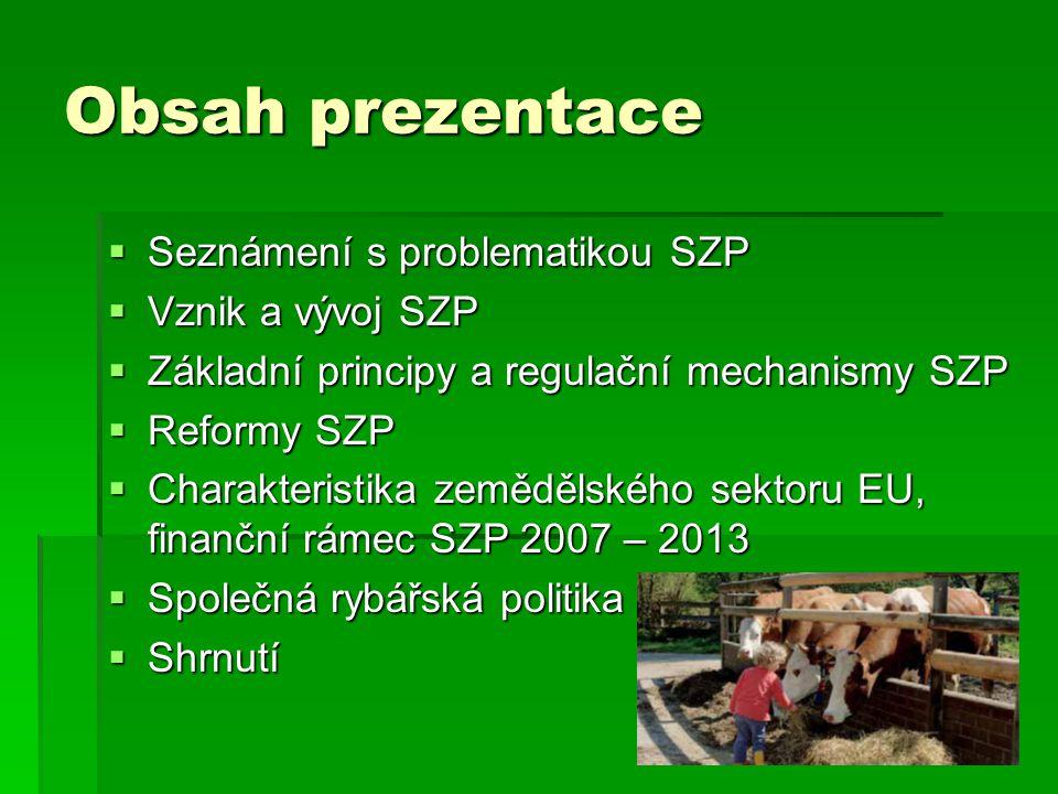 Reformy SZP - pokračování  Další poměrně převratná reforma, r.1999 - tzv.