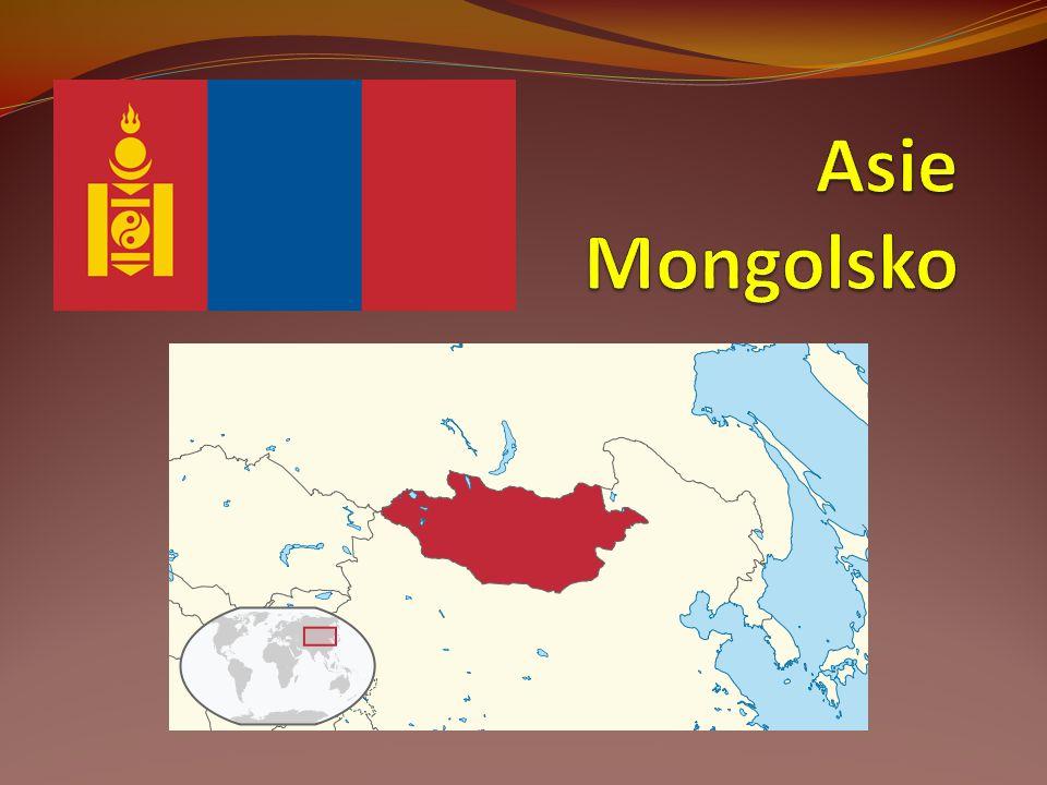 Mongolsko - venkov Mongolsko pokrývá z velké části step.