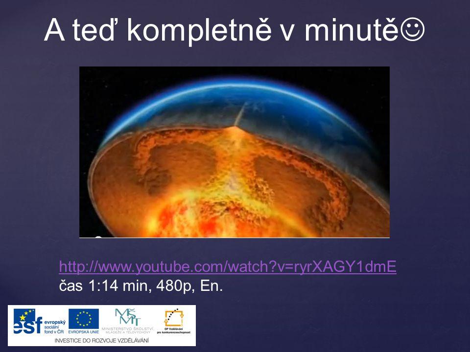 A teď kompletně v minutě http://www.youtube.com/watch?v=ryrXAGY1dmE čas 1:14 min, 480p, En.