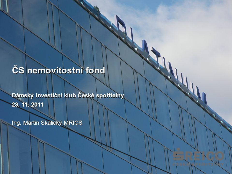 ČS nemovitostní fond Dámský investiční klub České spořitelny 23.