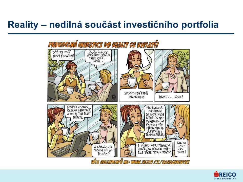 Reality – nedílná součást investičního portfolia