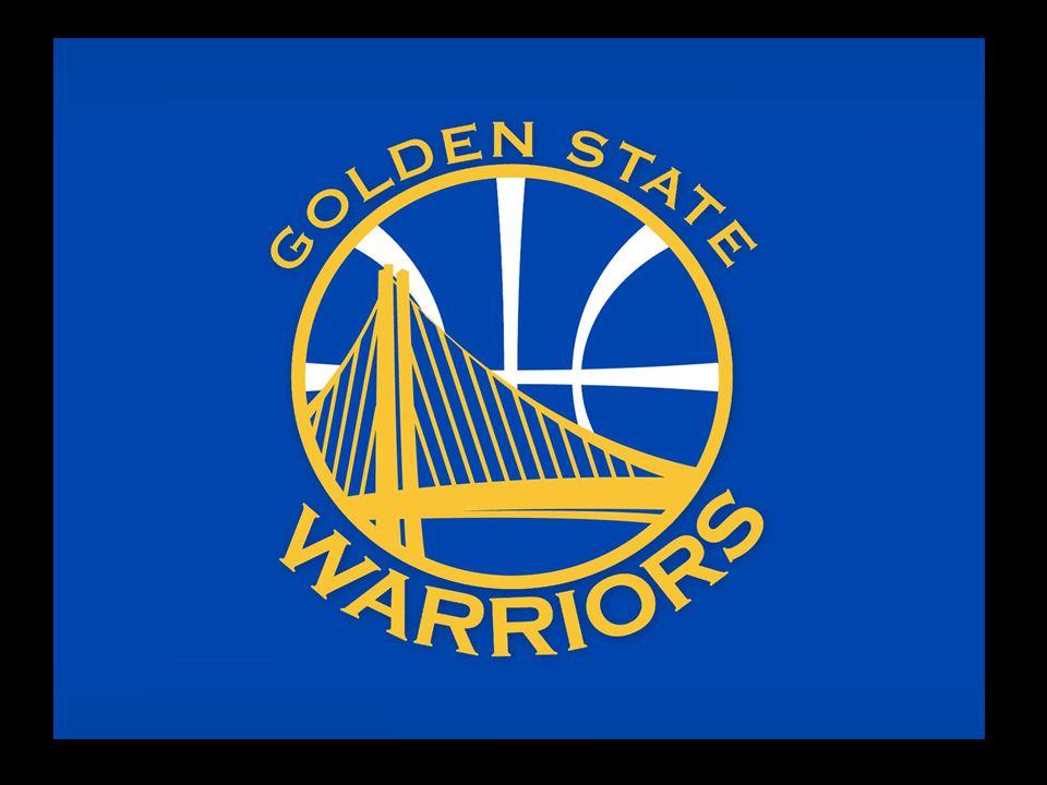 """Jsme basketbalový tým působící v americké NBA Sídlíme ve státě Kalifornie Přezdívá se nám """"Válečníci ze Zlatých států Vyznáváme modrou, bílou a žlutou barvu"""
