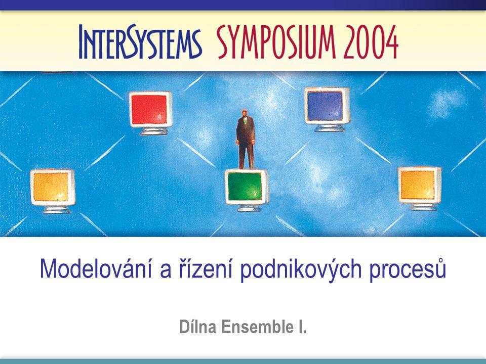 Modelování a řízení podnikových procesů Dílna Ensemble I.