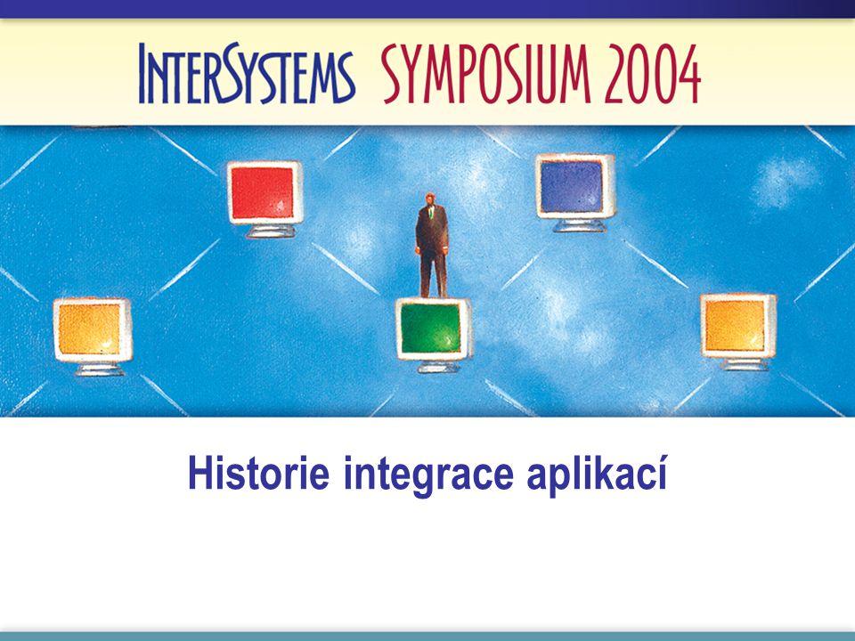 Historie integrace aplikací