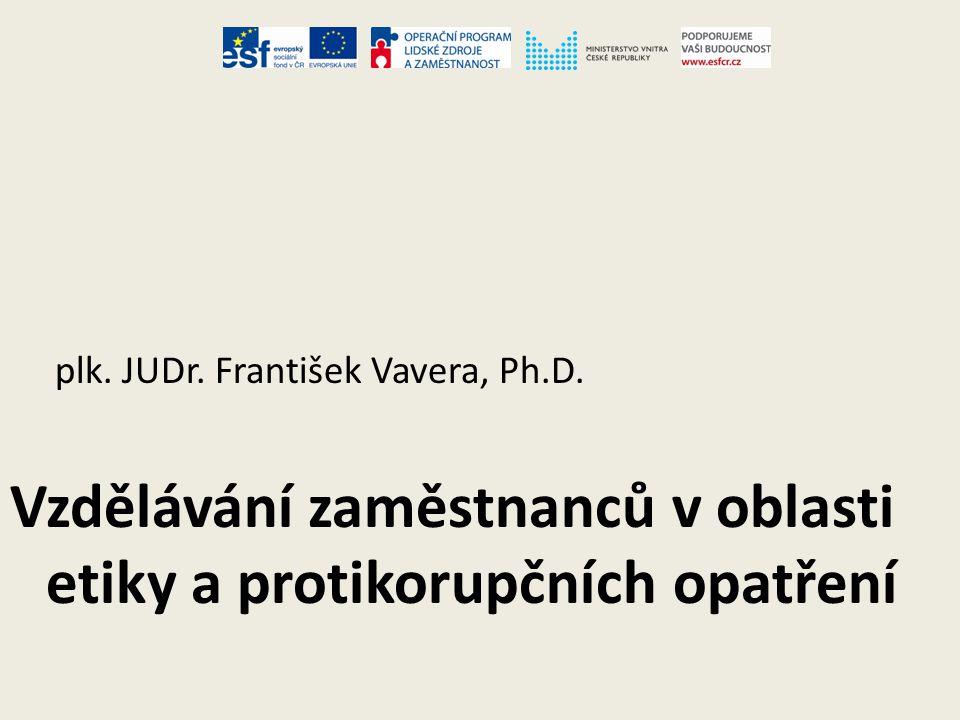 plk.JUDr. František Vavera, Ph.D.