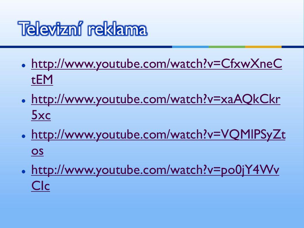 http://www.youtube.com/watch?v=CfxwXneC tEM http://www.youtube.com/watch?v=CfxwXneC tEM http://www.youtube.com/watch?v=xaAQkCkr 5xc http://www.youtube.com/watch?v=xaAQkCkr 5xc http://www.youtube.com/watch?v=VQMlPSyZt os http://www.youtube.com/watch?v=VQMlPSyZt os http://www.youtube.com/watch?v=po0jY4Wv CIc http://www.youtube.com/watch?v=po0jY4Wv CIc